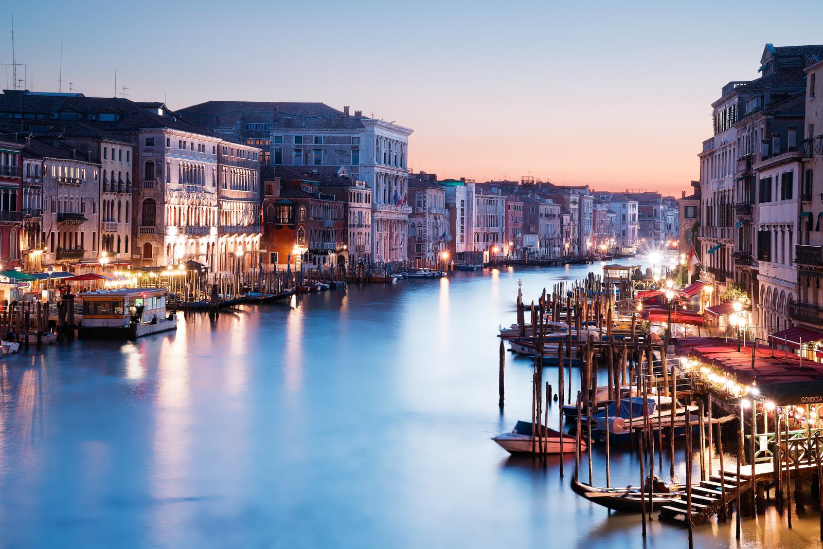 Venecia-atardecer