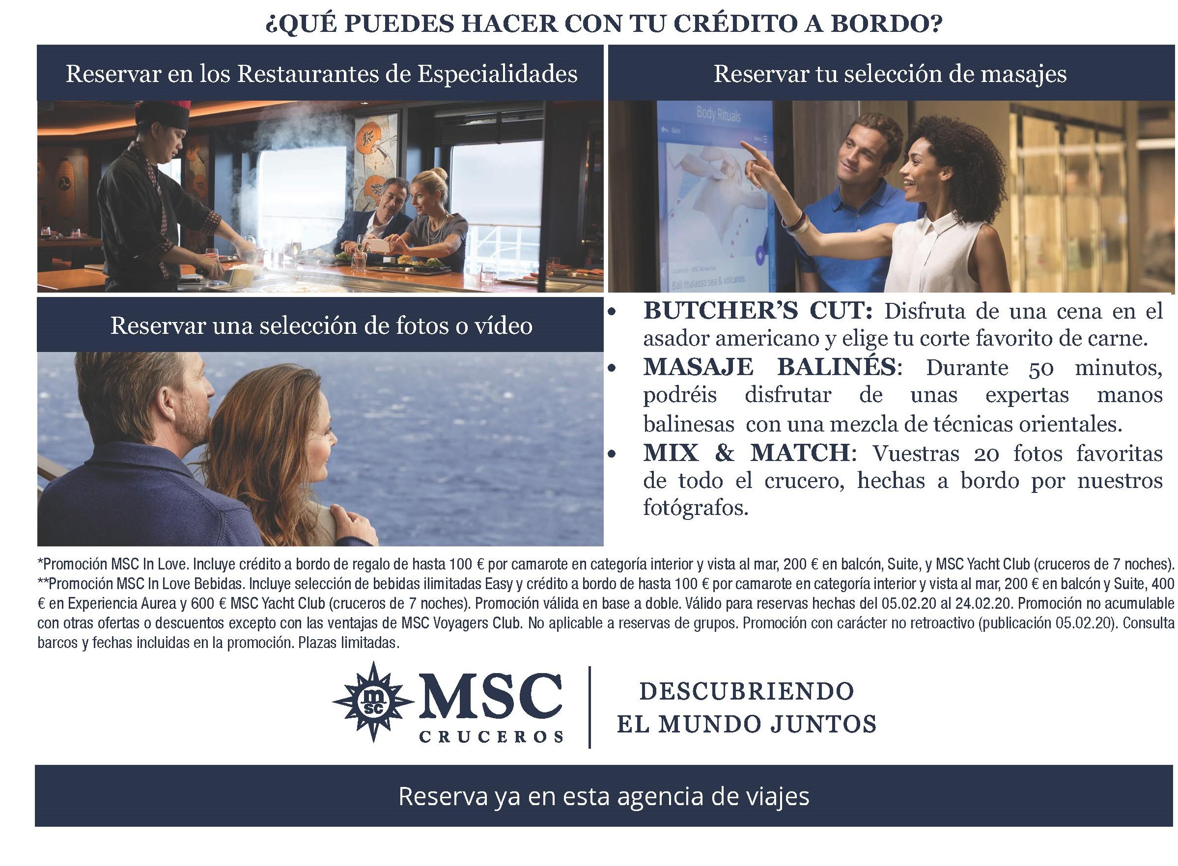MSC IN LOVE. Elige tu crucero; Mediterráneo, Islas Griegas, Europa
